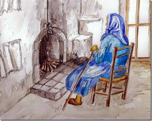 La vecchietta che aspettava Dio